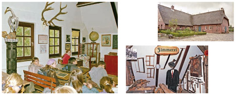 Fotocollage Stormarnsches Dorfmuseum