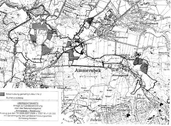 Landesverordnung Uber Das Naturschutzgebiet Ammersbek Niederung