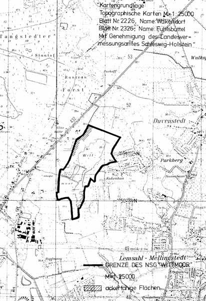 landesverordnung ber das naturschutzgebiet wittmoor kreis stormarn. Black Bedroom Furniture Sets. Home Design Ideas