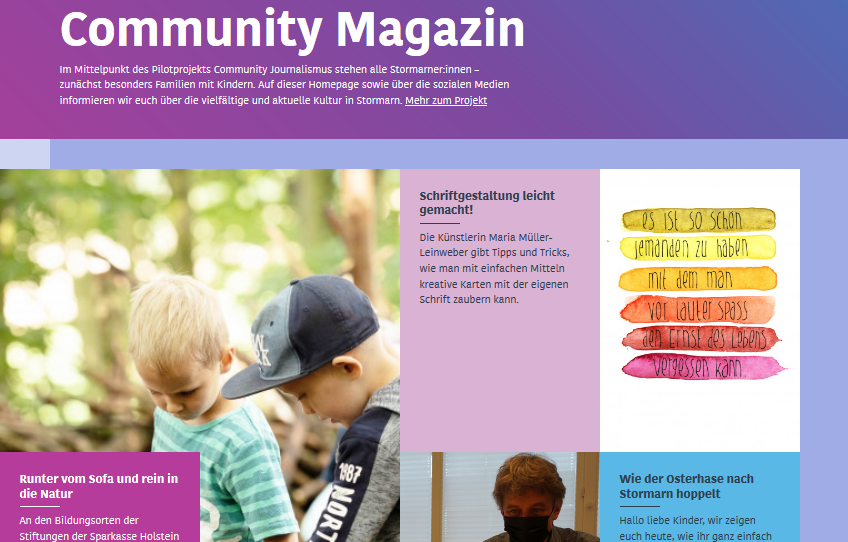 Start des Community-Magazins